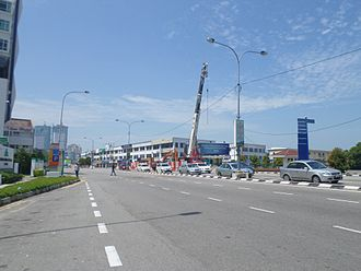 Malacca City - Syed Abdullah Aziz Road, a coastal road in the city