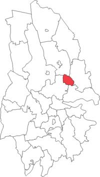 Näsby landskommune i Örebro amt