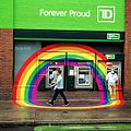 TD Canada Trust ATMs during WorldPride in Toronto 2014.jpg