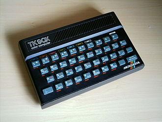 Microdigital Eletronica - The TK90X, Microdigital's ZX Spectrum clone.