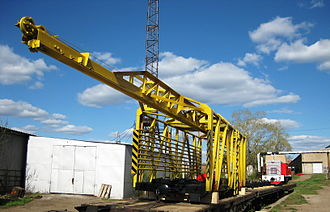 Crane (rail) - Rail SPA Crane (750mm)