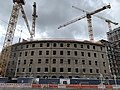 Tafelhof Palais Nürnberg, Baustellenansicht Ende April 2020.jpg