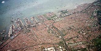 Tanjung Priok - Aerial view of the Port of Tanjung Priok
