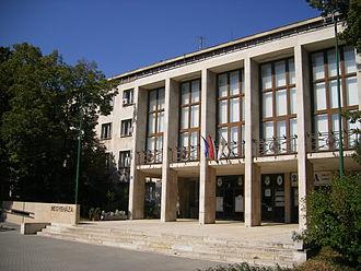 Komárom-Esztergom County - Countyhall of Komárom-Esztergom.