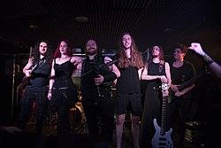 Taurisca beim Release Konzert ihres ersten Albums Winter