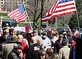 Tea Party Protest, Hartford, Connecticut, 15 April 2009 - 007.jpg