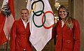Team Austria - Olympic Games 2012 - reception at Hofburg c22 Yvonne Schuring, Viktoria Schwarz.jpg