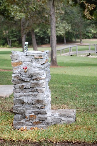 Eagle Scout Service Project - A public drinking fountain, an example of an Eagle Scout service project.