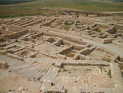 Tel Be'er Sheva Overview 2007041.JPG
