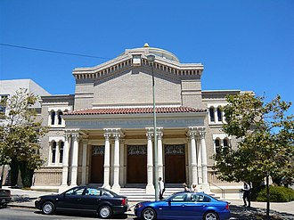Temple Sinai (Oakland, California) - Image: Temple Sinai First Hebrew Congregation of Oakland 1
