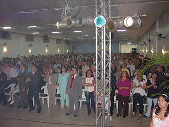 Pentecostalism - A Pentecostal congregation in Brazil