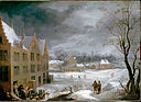 Teniers, David the younger - Winter Scene with a Man Killing a Pig - Google Art Project.jpg
