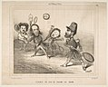 Tennis Session of 1848, from Actualités, published in Le Charivari MET DP818593.jpg