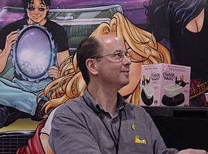Terry Moore (cartoonist) - Terry Moore at Heroes Con 2006