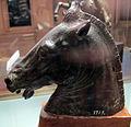 Testa di cavallo (copia in piccolo della testa riccardi), III-I sec ac. ca.JPG