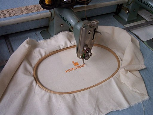Textilmuseum Bocholt Stickmaschine