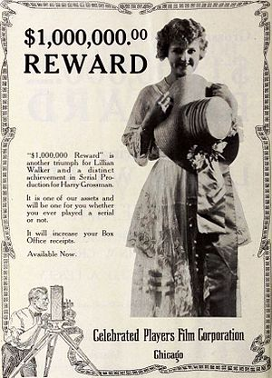The $1,000,000 Reward - Advertisement for film