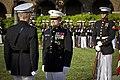 The 35th Commandant of the Marine Corps, Gen. James F. Amos, left, retires Gen. George J. Flynn, center, at Marine Barracks Washington in Washington, D.C., May 9, 2013 130509-M-LU710-209.jpg