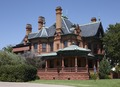 The Ball-Eddleman-McFarland House, one of several cattle barons' mansions in Fort Worth, Texas LCCN2015630749.tif