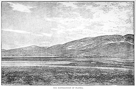 The battlefield of Plataea from the Achaemenid (northern) side. The Battlefield of Plataea.jpg
