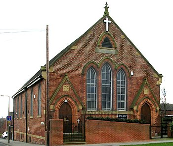English: The Church of the Holy Spirit - Leeds...
