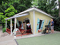 The Crooked House, Lincoln Children's Zoo, Lincoln, Nebraska, USA.jpg
