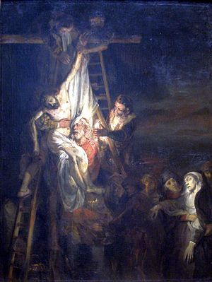 The Descent from the Cross-1650 1652-Rembrandt van Rijn and Constantijn van Renesse.jpg