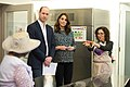 The Duke and Duchess Cambridge at Commonwealth Big Lunch on 22 March 2018 - 021.jpg