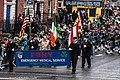 The FDNY EMS Pipes and Drums Band Took Part In The New York Parade On Sunday And Then Jetted To Dublin To March In Dublin On Sunday (8566205742).jpg