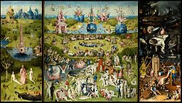 The Garden of Earthly Delights by Bosch High Resolution 2