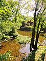 The Historic Gristmill on The Millstone River at the southern end of Lake Carnegie in Princeton, NJ USA June 2012 - panoramio.jpg