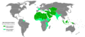 The Islamosphere, Map Of The Muslim World.png