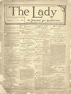 <i>The Lady</i> (magazine)