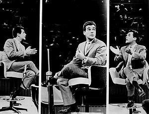 Les Crane - Scenes from Crane's television talk show in 1964.