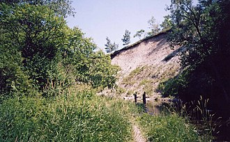 Rouge National Urban Park - Outcrops of rocks, and bluffs found throughout the Park was formed during the last glacial period.