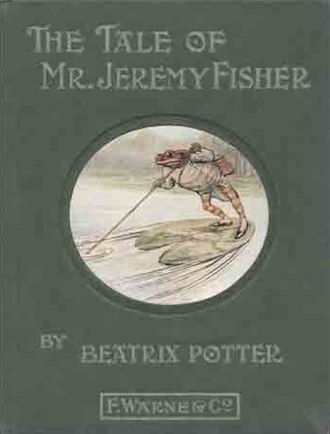 The Tale of Mr. Jeremy Fisher - First edition cover