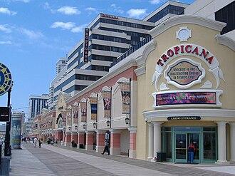 Tropicana Casino & Resort Atlantic City - Image: The Tropicana