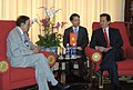 The Union Minister for Petroleum and Natural Gas, Shri Murli Deora called on the Prime Minister of Vietnam, Mr. Nguyen Tan Dung, in Dalat, Vietnam on July 22, 2010.jpg