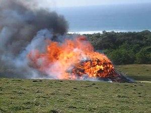 File:The burning of the ritual hut - Transkei.ogv
