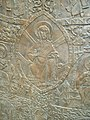 The coronation mantle relief by Tibor Rieger, detail, relief image of Christ (22629261154).jpg