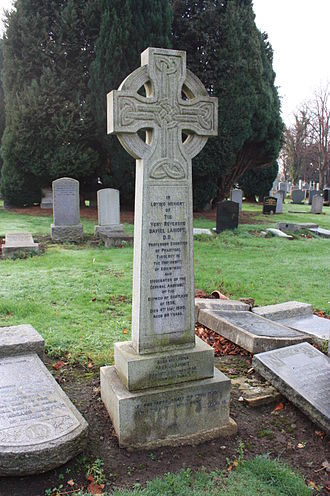 Daniel Lamont - The grave of the Very Rev Daniel Lamont, Morningside Cemetery, Edinburgh