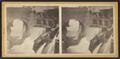 The gulf, Glens Falls, N.Y, by Stoddard, Seneca Ray, 1844-1917 , 1844-1917.png