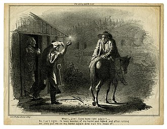 Joseph Britton (lithographer) - Image: The jolly old miner. (9826551044)