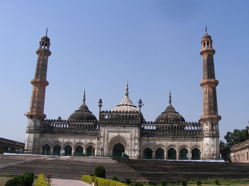 The mosque within the bara imambara , lucknow.JPG
