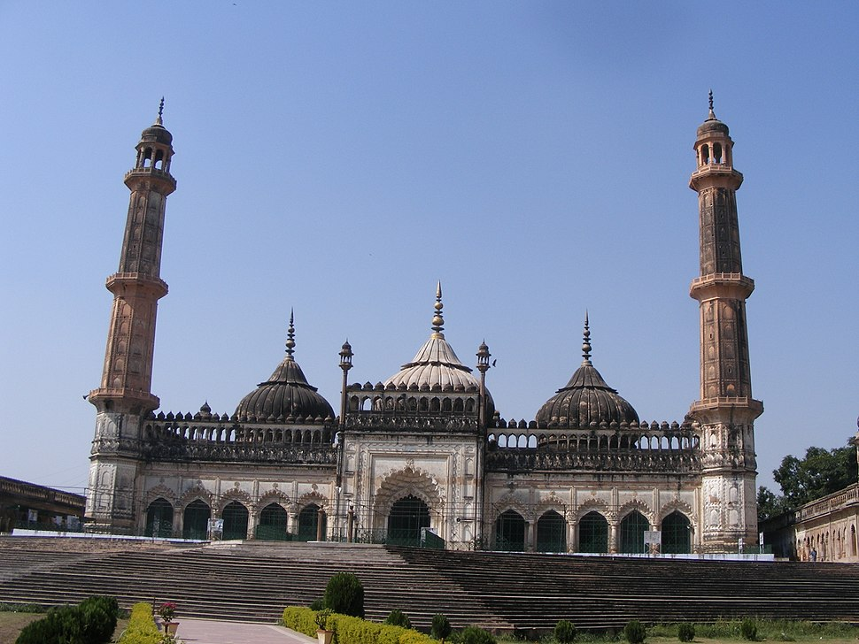 The mosque within the bara imambara , lucknow