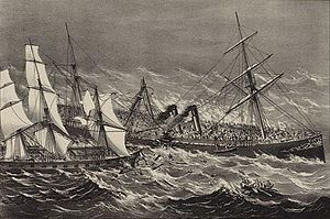 SS Ville du Havre - The sinking of Ville du Havre