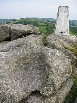 The throne on Helman Tor - geograph.org.uk - 196579