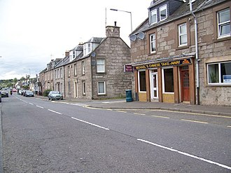 Methven, Perth and Kinross - Image: The village of Methven geograph.org.uk 1557078