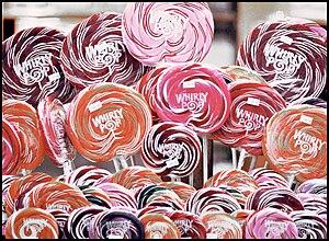 Whirly Pop lollipops.
