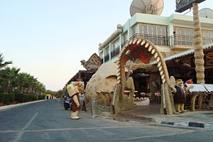 The Flintstones - Theme cafeteria The Flintstones in Ayia Napa, Cyprus